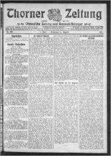 Thorner Zeitung 1911, Nr. 196 1 Blatt