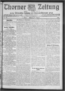 Thorner Zeitung 1911, Nr. 197 1 Blatt