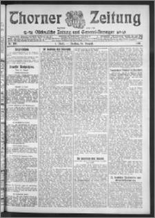 Thorner Zeitung 1911, Nr. 199 1 Blatt