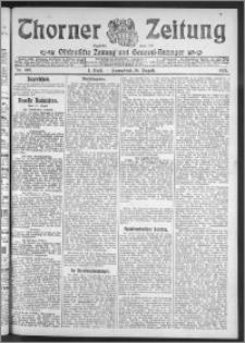 Thorner Zeitung 1911, Nr. 200 1 Blatt
