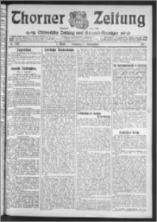 Thorner Zeitung 1911, Nr. 207 1 Blatt