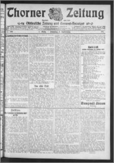 Thorner Zeitung 1911, Nr. 208 2 Blatt