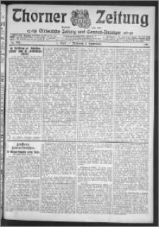 Thorner Zeitung 1911, Nr. 209 2 Blatt