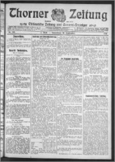 Thorner Zeitung 1911, Nr. 218 1 Blatt