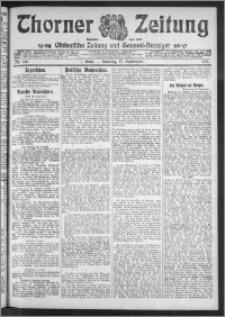 Thorner Zeitung 1911, Nr. 219 1 Blatt