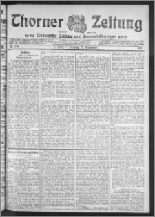 Thorner Zeitung 1911, Nr. 219 2 Blatt