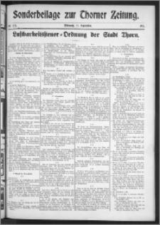 Thorner Zeitung 1911, Nr. 227 Sonderbeilagen