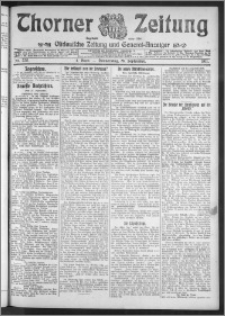 Thorner Zeitung 1911, Nr. 228 1 Blatt
