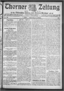 Thorner Zeitung 1911, Nr. 246 1 Blatt