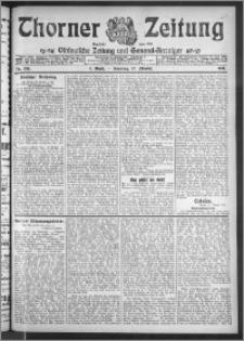 Thorner Zeitung 1911, Nr. 249 2 Blatt