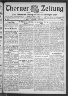 Thorner Zeitung 1911, Nr. 257 1 Blatt