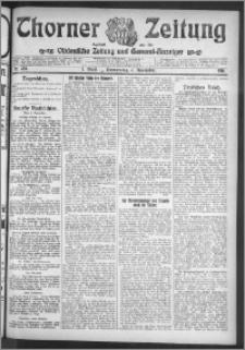 Thorner Zeitung 1911, Nr. 258 1 Blatt