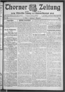 Thorner Zeitung 1911, Nr. 261 1 Blatt