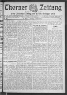 Thorner Zeitung 1911, Nr. 261 2 Blatt