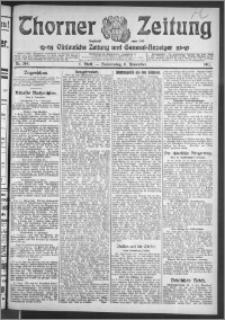 Thorner Zeitung 1911, Nr. 264 1 Blatt