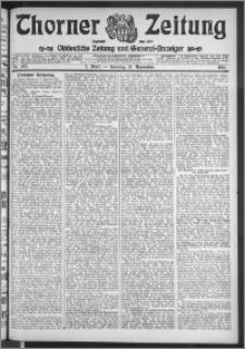 Thorner Zeitung 1911, Nr. 267 2 Blatt