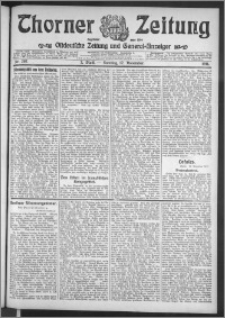 Thorner Zeitung 1911, Nr. 267 3 Blatt