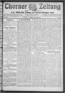 Thorner Zeitung 1911, Nr. 271 1 Blatt