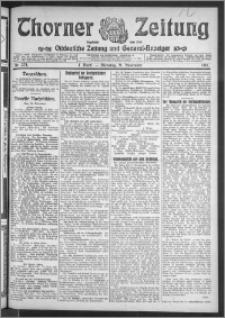 Thorner Zeitung 1911, Nr. 274 1 Blatt