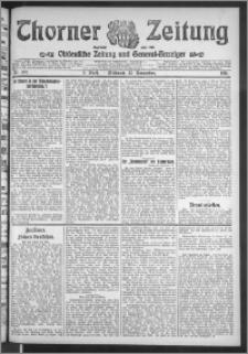Thorner Zeitung 1911, Nr. 275 2 Blatt