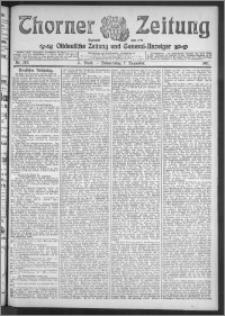 Thorner Zeitung 1911, Nr. 287 2 Blatt