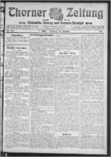 Thorner Zeitung 1911, Nr. 297 1 Blatt