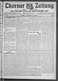 Thorner Zeitung 1911, Nr. 301 2 Blatt
