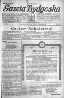 Gazeta Bydgoska 1926.08.01 R.5 nr 174