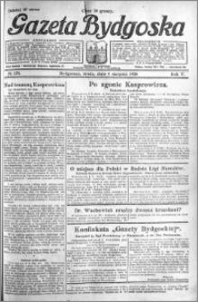 Gazeta Bydgoska 1926.08.04 R.5 nr 176