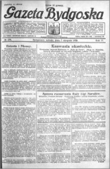 Gazeta Bydgoska 1926.08.07 R.5 nr 179