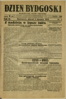 Dzień Bydgoski, 1933, R.4, nr 2