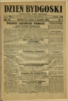 Dzień Bydgoski, 1933, R.4, nr 3