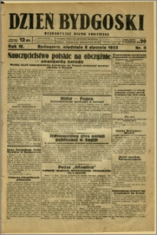 Dzień Bydgoski, 1933, R.4, nr 6