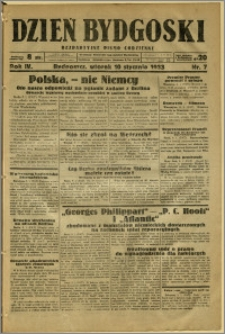Dzień Bydgoski, 1933, R.4, nr 7
