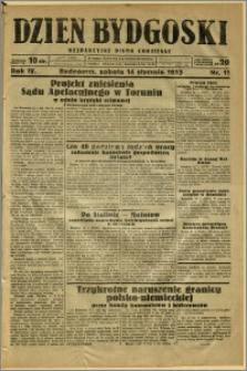 Dzień Bydgoski, 1933, R.4, nr 11