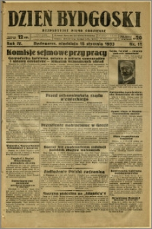 Dzień Bydgoski, 1933, R.4, nr 12