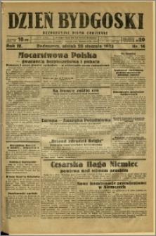 Dzień Bydgoski, 1933, R.4, nr 16