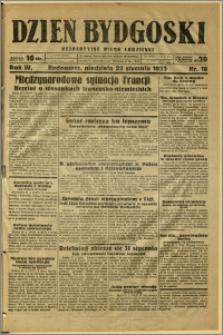 Dzień Bydgoski, 1933, R.4, nr 18
