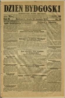Dzień Bydgoski, 1933, R.4, nr 20