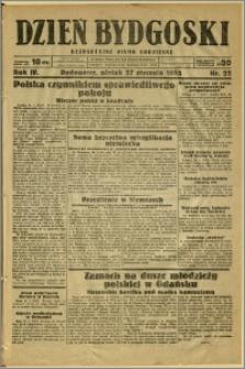 Dzień Bydgoski, 1933, R.4, nr 22