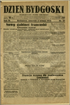 Dzień Bydgoski, 1933, R.4, nr 27