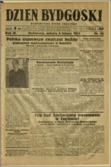 Dzień Bydgoski, 1933, R.4, nr 28