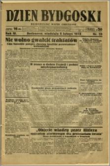 Dzień Bydgoski, 1933, R.4, nr 29
