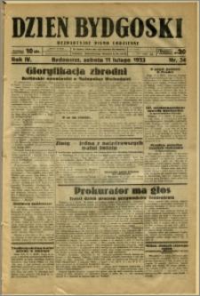 Dzień Bydgoski, 1933, R.4, nr 34