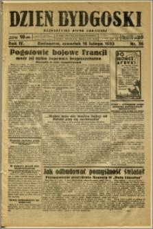 Dzień Bydgoski, 1933, R.4, nr 38