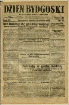 Dzień Bydgoski, 1933, R.4, nr 43