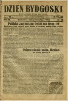 Dzień Bydgoski, 1933, R.4, nr 45
