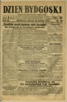 Dzień Bydgoski, 1933, R.4, nr 48