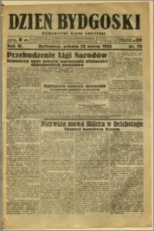 Dzień Bydgoski, 1933, R.4, nr 70