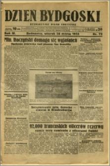 Dzień Bydgoski, 1933, R.4, nr 72
